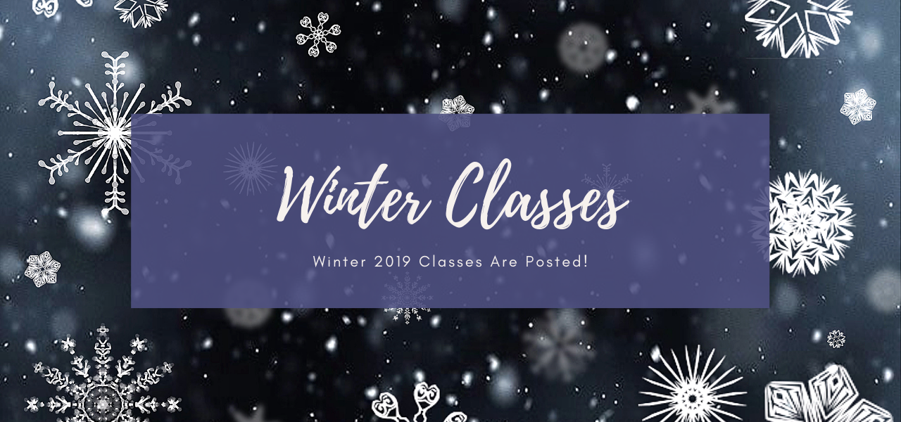 Winter Classes 2019 Header