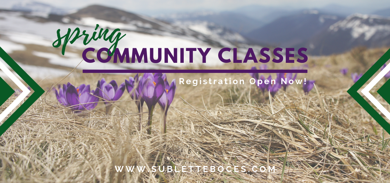 Spring Community Classes